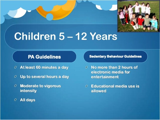 National physical activity guidelines for australians