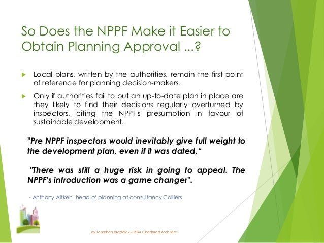 the national planning policy framework ensuring The new national planning policy framework: thinking big and small - insight magazine property - 31st may 2018 - director at bh planning and design, mark ketley, explores the current planning industry and how it is affected by the government's new housing policy.