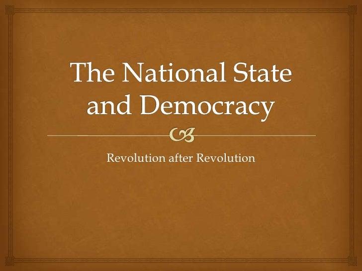 Revolution after Revolution