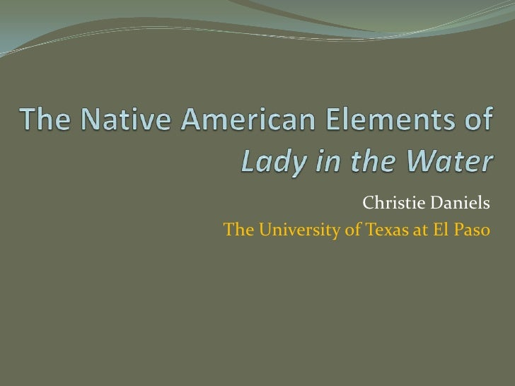 Christie Daniels The University of Texas at El Paso