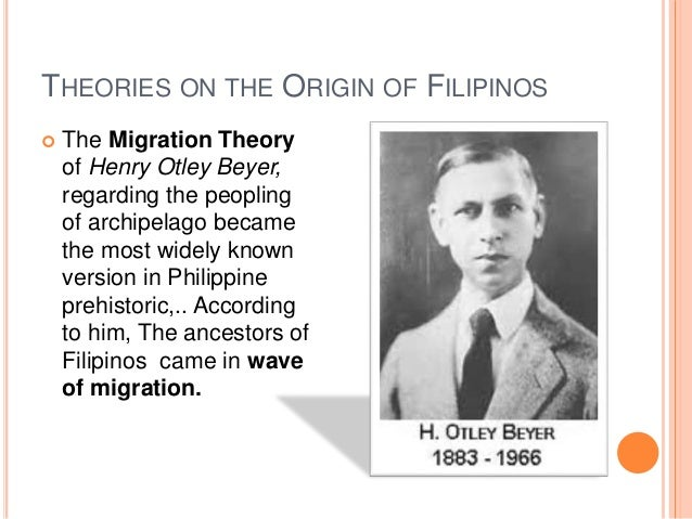migration theory henry otley beyer