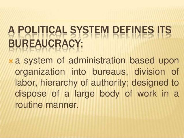 nature of bureaucracy in india