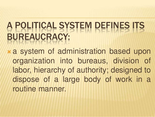 reaction about philippine bureaucracy One particular theme that runs throughout catch 22 is the idea of how bureaucracy affects organizations and the the negative effects of bureaucracy.