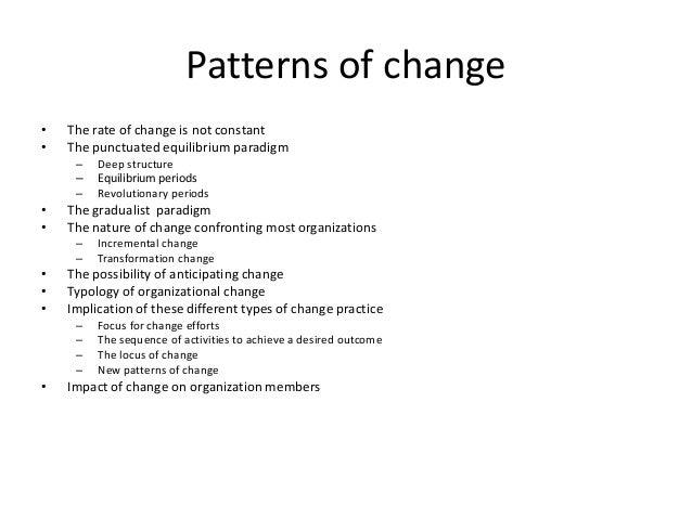 Adam Shulman: Patterns Of Change