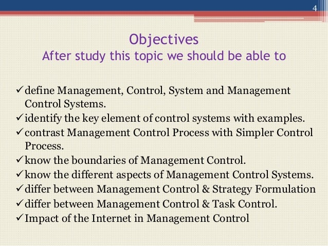 controlling aspect of management A critical aspect of quality management in the pro- 1 quality management plan2 results of quality control measurements3 operational definitions.