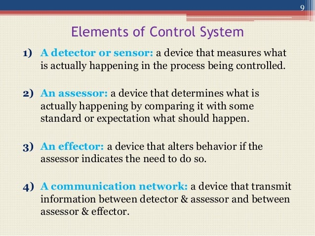 nature of management control system pdf