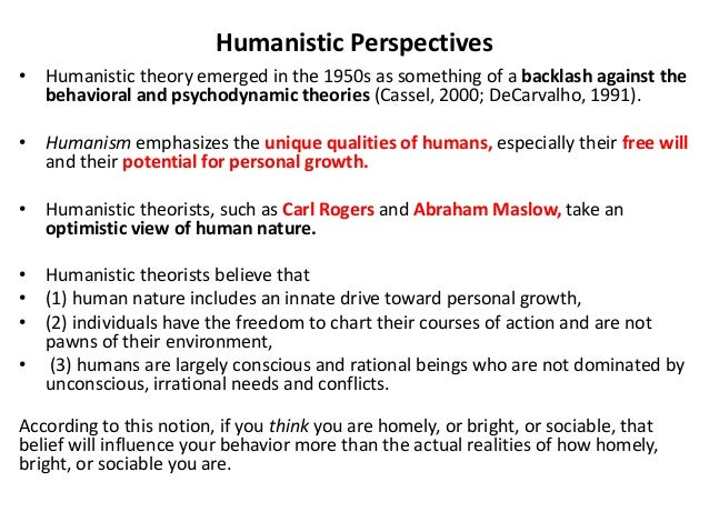 personality theory human nature Social cognitive theory of personality albert bandura stanford university bandura, a (1999) a social cognitive theory of personality in l pervin & o john (ed),  the view of human nature embodied in such theories and the causal processes they postulate have considerable import what theorists believe people to be determines which aspects.