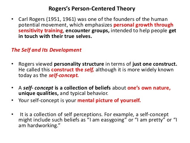 Carl Roger's Person-Centered Theory