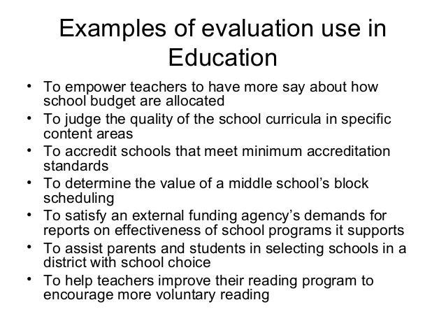 evaluation of educational programs Recently published articles from studies in educational evaluation.