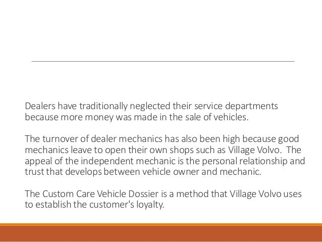 how can village volvo differentiate itself from volvo dealers essay Our village essay in urdu importance of english in pakistan essay date: november 11, 2017  a village fair essay32 (6318%) 365 votes university/college:.