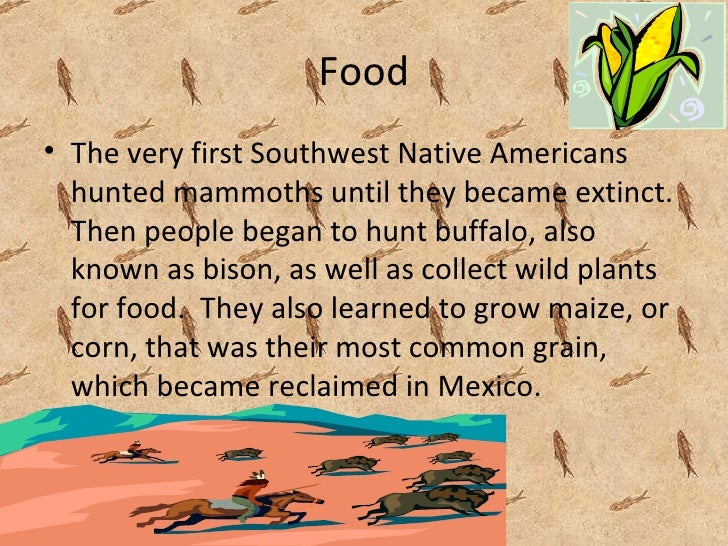 food sources of first nations tribes