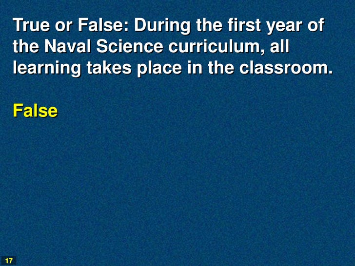Naval Science