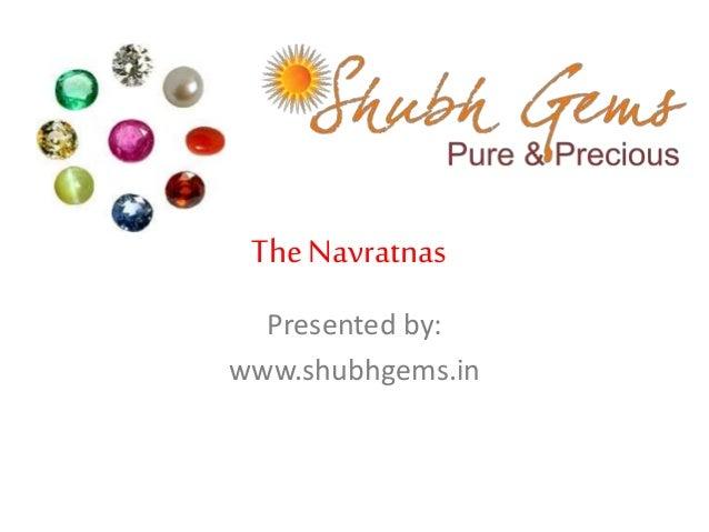 The Navratnas: The 9 Sacred Gemstones   Shubh Gems