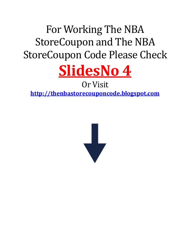 6e826f70c84 The nba store coupon code