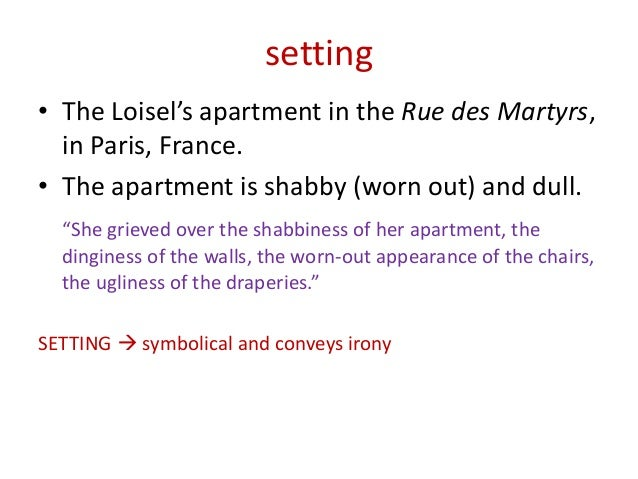 analysis of the necklace the necklace guy de maupassant 2