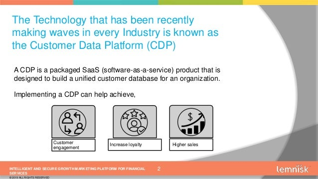 The Need for a Customer Data Platform in the Asian Financial Services Industry Slide 2