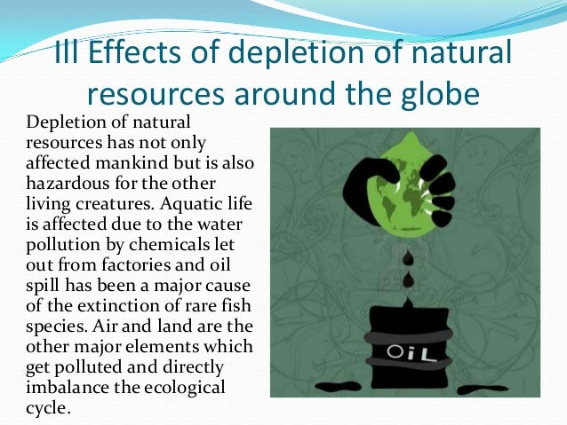 How Can We Save Natural Resources
