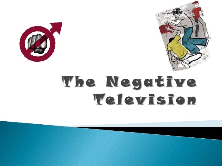 The Negative Television<br />