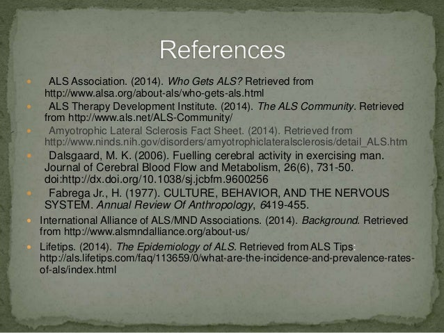 The nervous system als for Symptoms of motor neuron disease mayo clinic