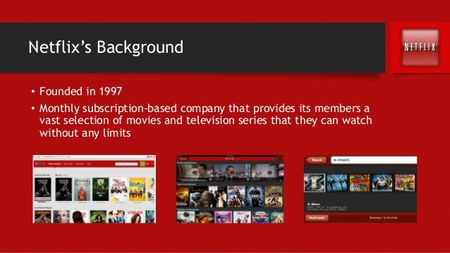 marketing plan netflix Free essay: netflix is recovering from one of the worst self-inflicted corporate marketing gaffes in years after years of offering an excellent value to.