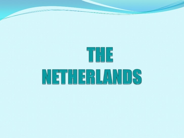  The Netherlands is located in North-Western Europe. It is just over half the size ofIreland. It is 41 526 sq km. The ...