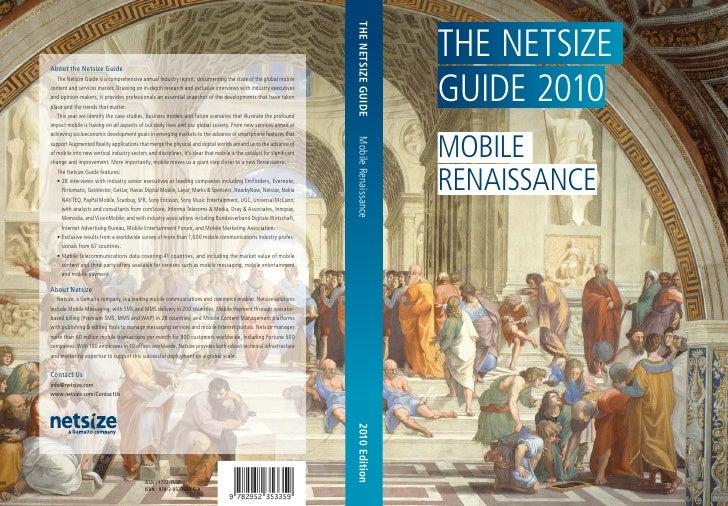 The Netsize Guide 2010 'Mobile Renaissance'