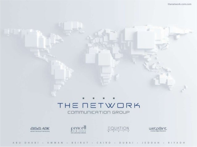 THE NETWORK Communication Group is a holding company created to host the group's different specialized communication disci...