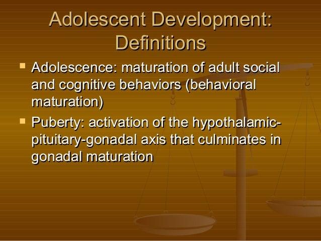 The Neurobiology of Adolescent Development Slide 3