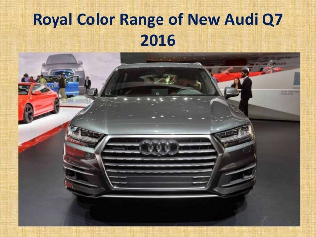 The New Audi Q Review Q Audi Price By Car Club India - Audi car range 2016
