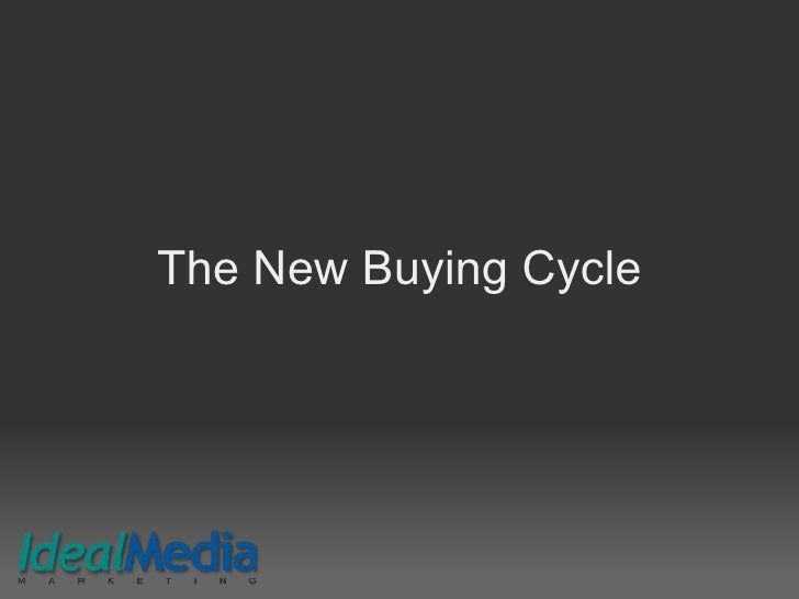The New Buying Cycle