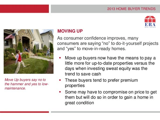 The 4 new types of real estate consumer 2013 homebuyer trends property and location 7 solutioingenieria Choice Image