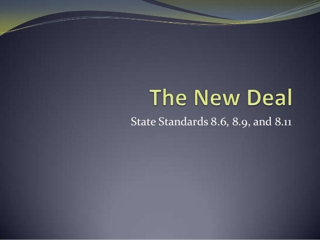 State Standards 8.6, 8.9, and 8.11