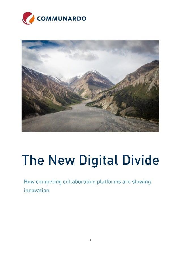 The new digital divide