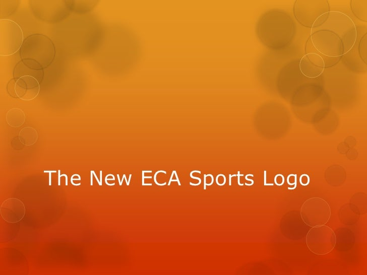The New ECA Sports Logo<br />