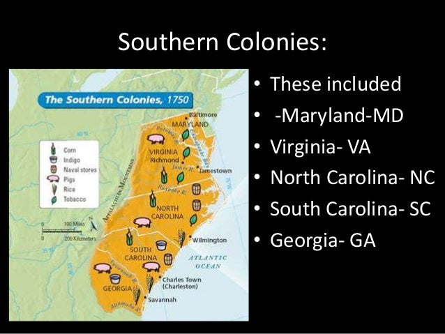compare new england middle and southern colonies
