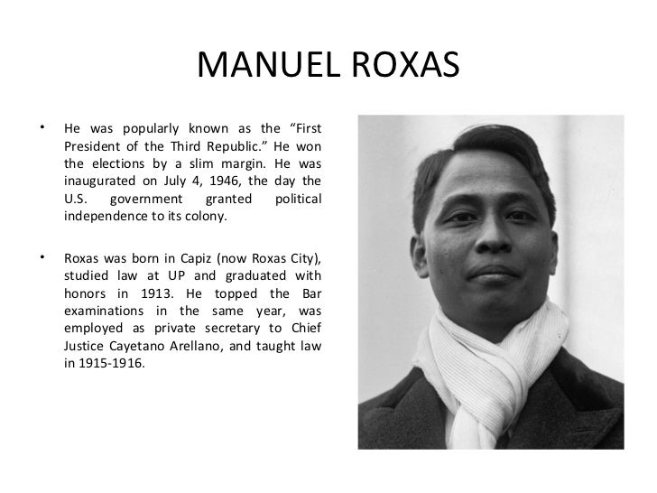 parity rights manuel roxas What is parity rights save cancel already exists would you like to merge this question into it  the parity rights of 1947 was signed during the incumbency of pres manuel a roxas share to.