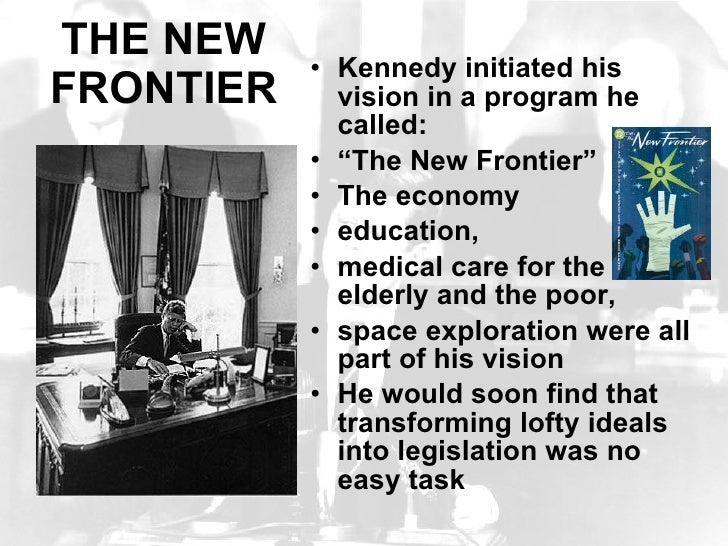 kennedys new frontier