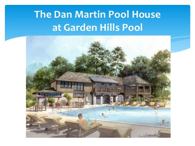 The Dan Martin Pool House at Garden Hills Pool