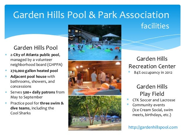 The case for the new garden hills pool house for Garden hills pool hours