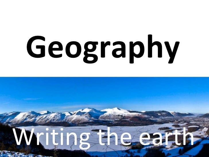 The New Geography Curriculum For Leeds