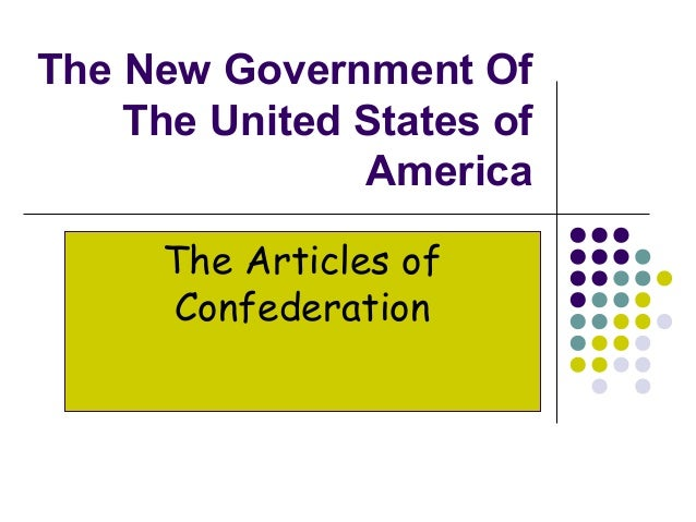 The goals of government of the united states