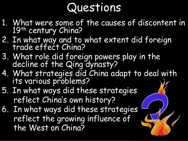 Qing Dynasty Essays (Examples)