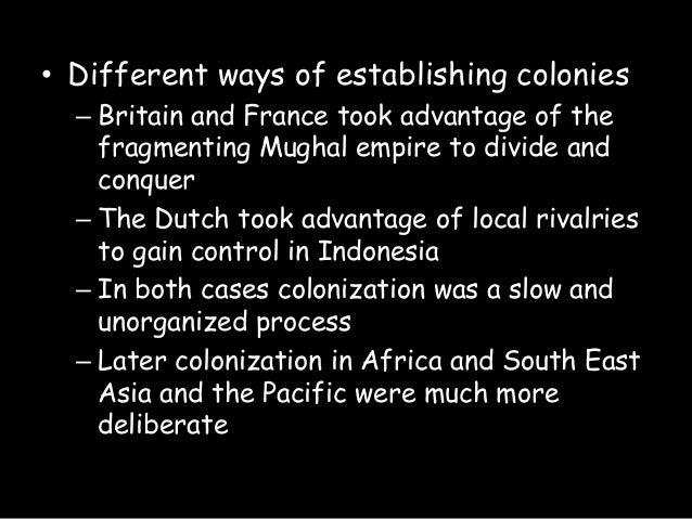 the new and old ways of imperialism The new imperialism merits the widest possible public  the old left was primarily concerned with the former, and in many ways that helped lead to its downfall,.