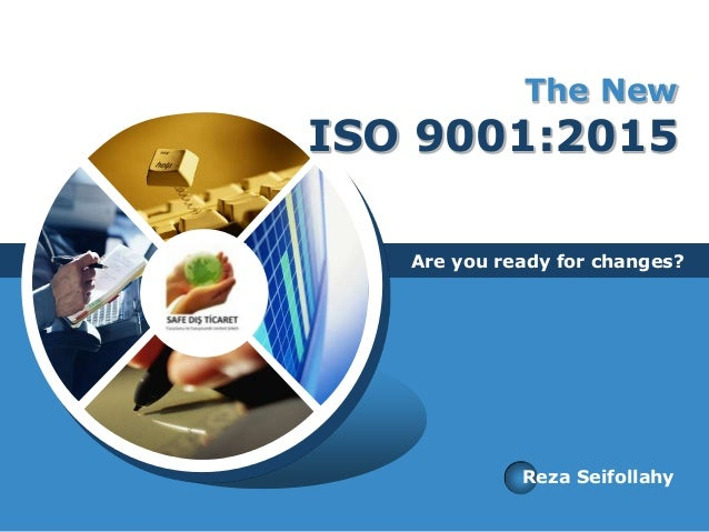 The New Iso 9001 2015