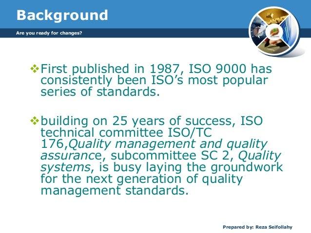 The new ISO 9001:2015 Slide 2