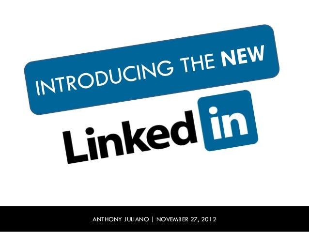 ANTHONY JULIANO   NOVEMBER 27, 2012