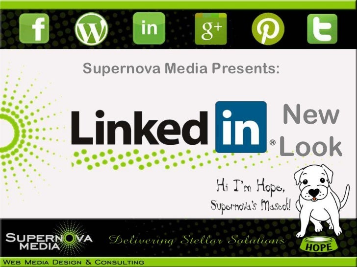 Supernova Media Presents:                        New                        Look