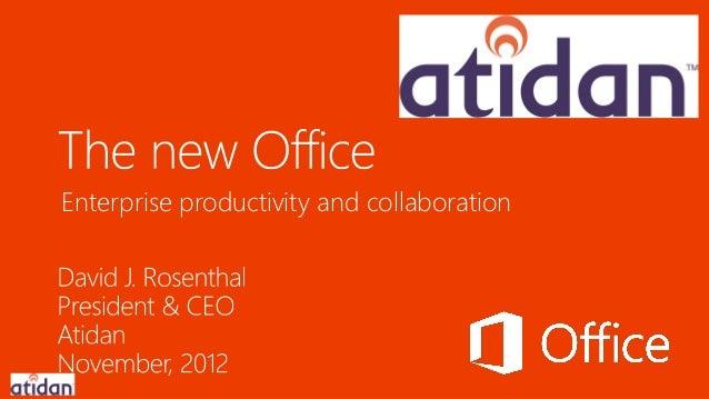 Enterprise productivity and collaboration