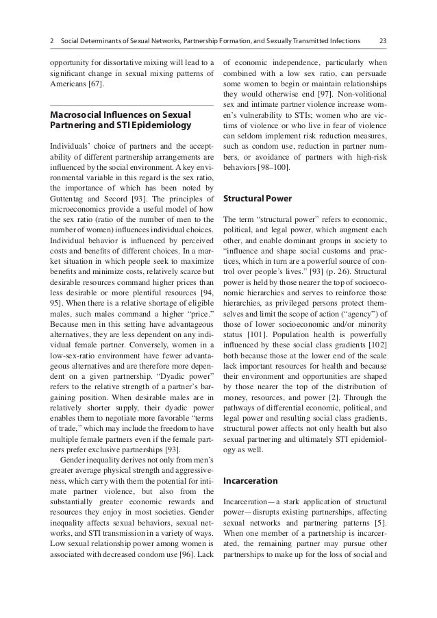 role of determinants on the onset of sti hiv This special issue of public health reports (phr) focuses on innovations and advances in incorporating a social-determinants-of-health (sdh) framework for addressing the interrelated epidemics of human immunodeficiency virus (hiv), viral hepatitis, sexually transmitted infections (stis), and tuberculosis (tb) in the united states and globally this focus is particularly timely given the.