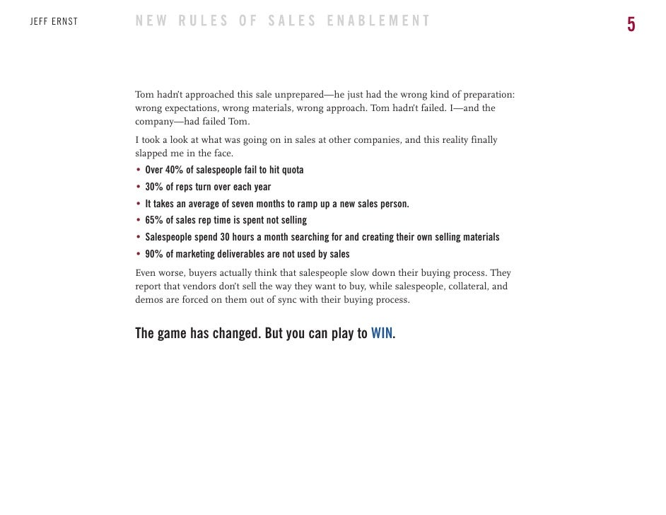 The new rules of sales enablement ebook thats when it hit me 5 fandeluxe Gallery